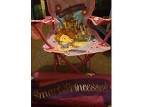 Kids foldable sofia the first chair - like new