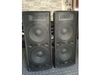 ZP215 400w RMS 3 way passive PA speaker