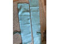 Breathable Baby Solid End Cot/Crib Bumpers - Aqua