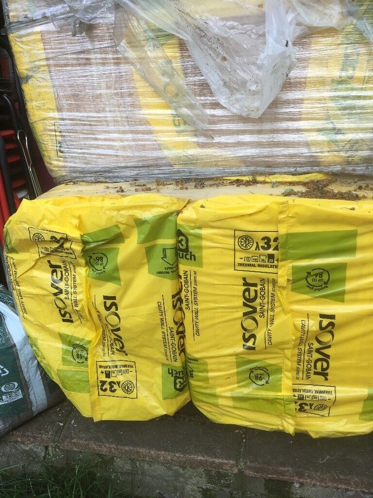 Isover 32 Cavity wall insulation, 75mm, 8 x 10 pack available | in ...
