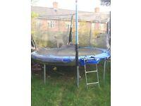 12ft free trampoline needs some tlc