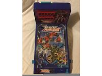 """Animated"""" Transformers"""" pinball machine, only used once! Exc. cond! Age 4+"""