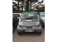 Smart City Coupe *£30 TAX-12 MOT+3 MONTH WARRANTY*