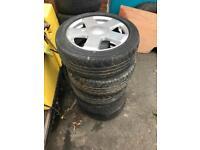 5x Ford Fiesta alloy wheels
