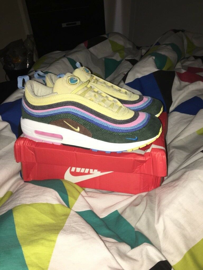 3446dc79d03bdf NIKE AIR MAX 97 VF Nike x Sean Witherspoon sneakers