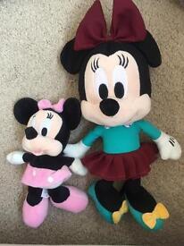 Disney cuddly toys