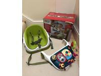 Mama & Papas Baby Bud Booster Seat & Activity Tray