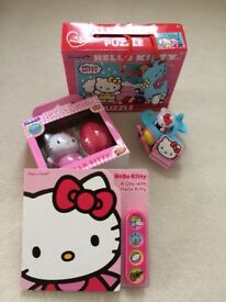 Hello Kitty sounds book, toys and puzzle