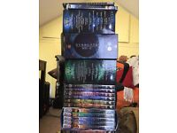 Complete Star Gate TV series on DVD including original movie and TV Moives