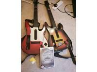 2 X Guitar Hero Nintendo wii