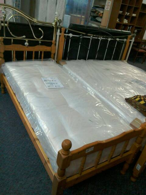 online store 9e2bd d09c6 2ft 6-in bed frame #35310 £30 2ft 6-in new mattress #35860 £80 will sell  separately | in Rayleigh, Essex | Gumtree