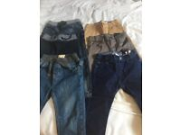 Boys jeans and trousers age 4 - 5