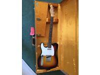 AVRI 64 Left handed telecaster - as new