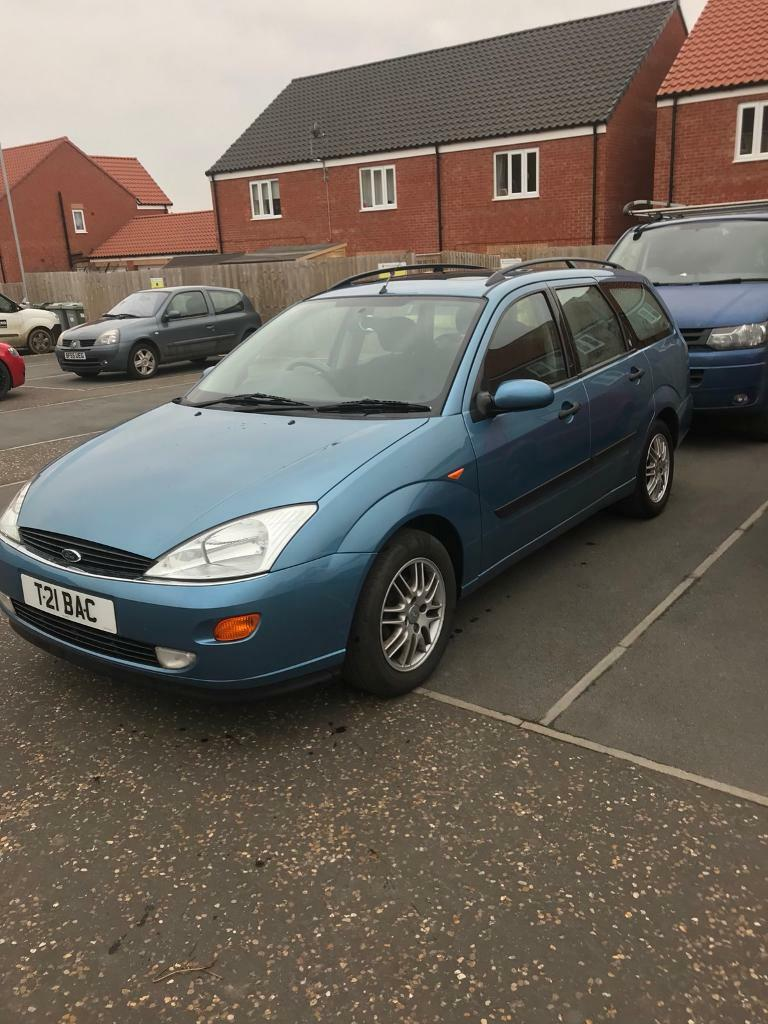 2001 Ford Focus estate ghia