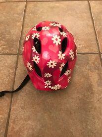 Children's (girls) bike helmet