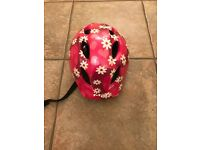 Children's (girls) bike helmet