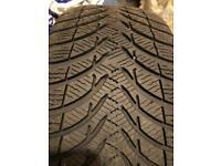 Michelin Tyres 215/45 R16 90H Alpin * 2
