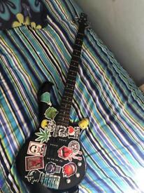 Black Ibanez Bass Guitar
