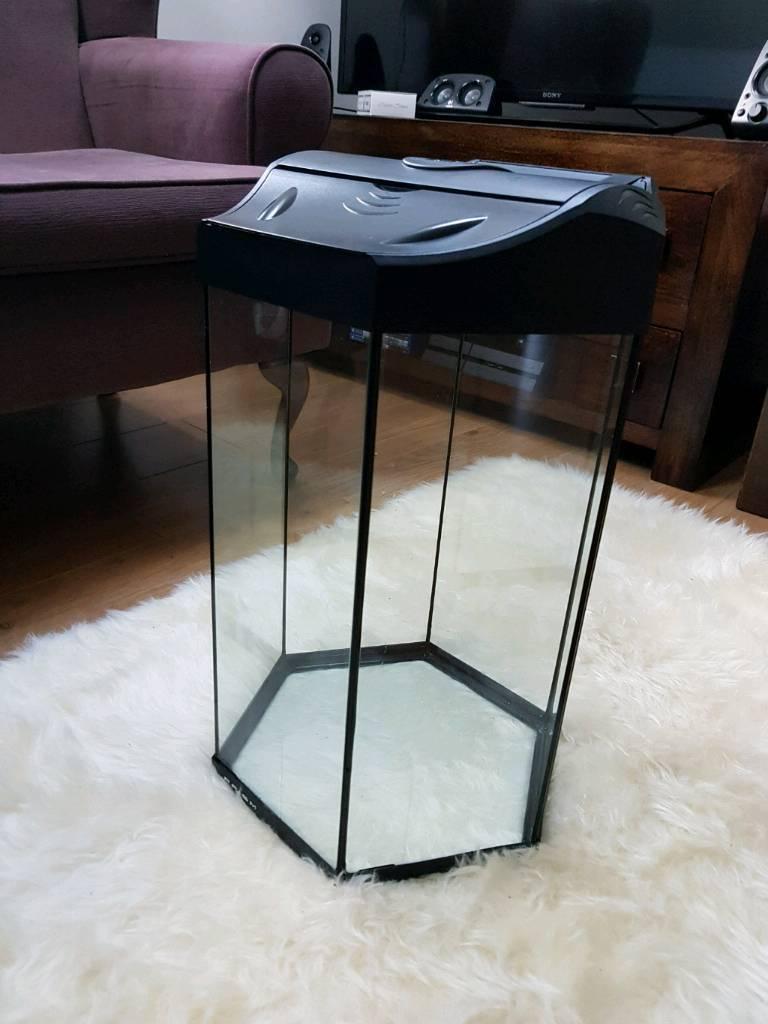 Aquarium fish tank sale uk - Fish Tank 30l Led Light Prism Pets At Home With Full Accessories Inside