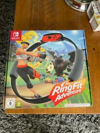 Nintendo switch ring fit adventures