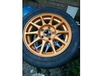 Honda integra type R dc2 1999 alloy wheels