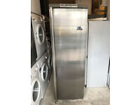 AEG Stainless Steel Tall Silver Fridge (Fully Working & 3 Month Warranty)