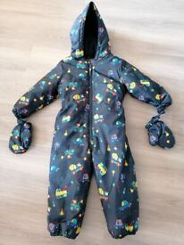 All in one winter suit age 3-4 years