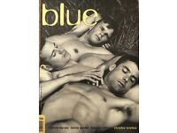 BLUE - All 66 issues of the Australian gay men's mag. Near mint. Collectable. Large format