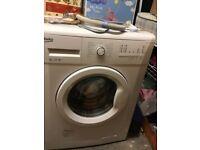 Beko 6kg washing machine, white