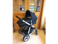 iCandy Apple Pram with accessories