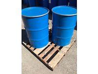 LARGE QUANTITIES - Open Top Steel Barrels