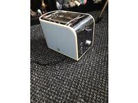 swan retro style toaster