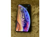 iPhone XS 256gb gold unlocked a grade condition with warranty