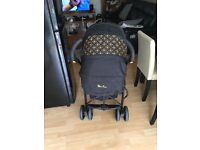 Used once- silvercross limited edition 3D pram/travel system & car seat