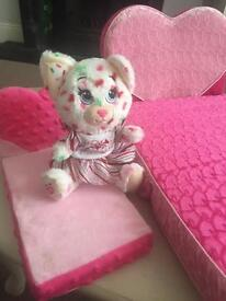 Small build a bear & small & large bed