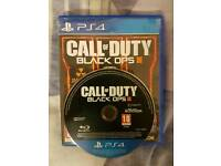 3 Ps4 games call of duty, fifa 16