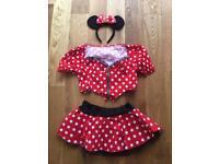 Minnie Mouse fancy dress costume