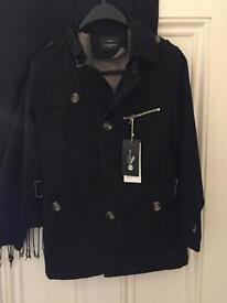 Brand new mens Medium black jacket