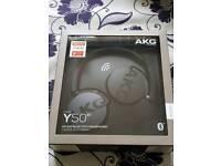 AKG Y50BT Headphones - Brand New in Box