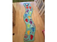 ELC funky footprints lights and sound dance mat with box