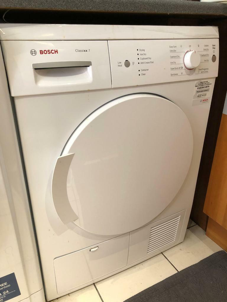 Bosch Wte84106gb 7kg Condenser Tumble Dryer With Sensor