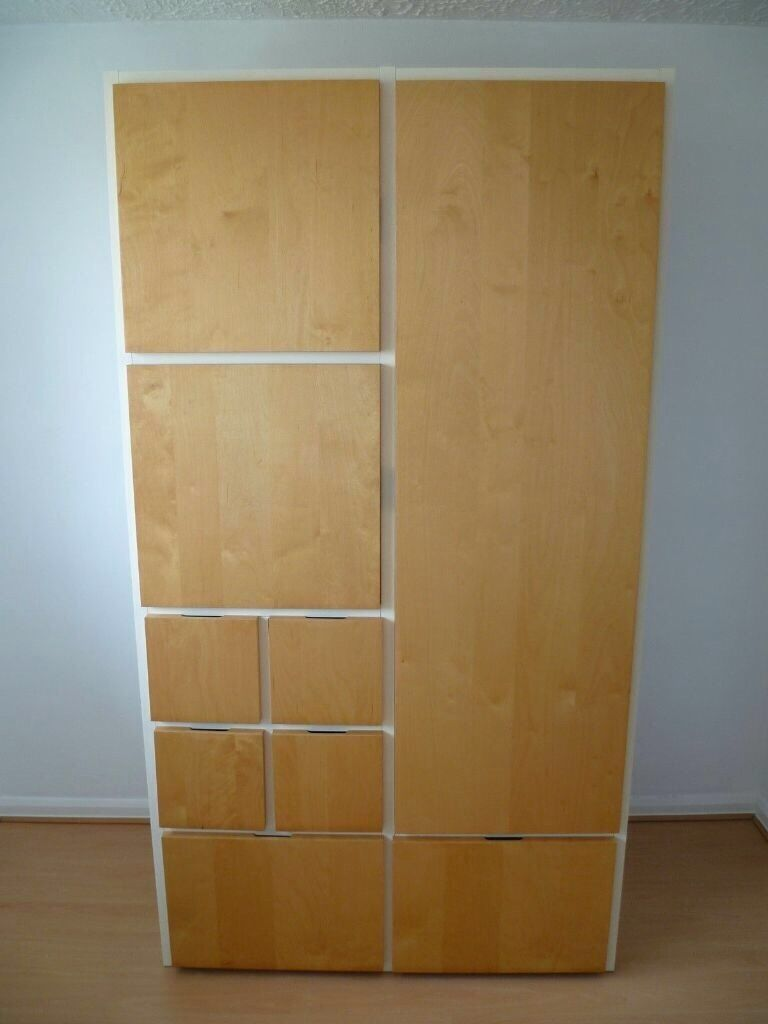 ikea rakke wardrobe in poole dorset gumtree. Black Bedroom Furniture Sets. Home Design Ideas
