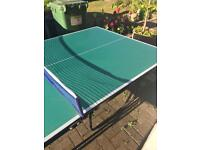 Wollowo 3/4 table tennis table