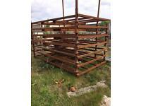 Steel stillages 6ft x 10ft
