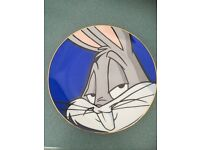 Limited edition bugs bunny plate
