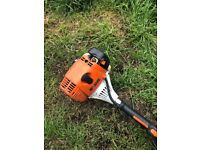 long reach stihl hedge trimmer