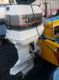 Johnson 150 v6 long shaft