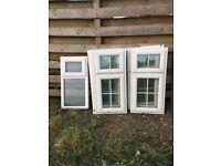windows white pvc Georgian bar style
