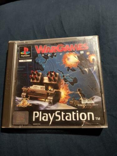 Ps1 playstation 1 wargames defcon 1