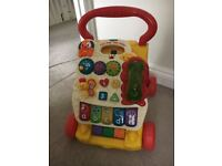 Vtech baby walker (with phone battery included)